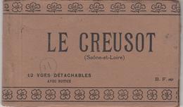 Carnet De 12 Vues Sur LE CREUSOT - Le Creusot