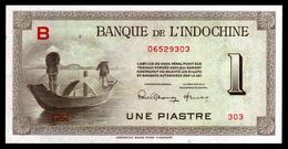 INDOCHINE - 1 Piastre - 1945 - P76 Non émis Not Issued - UNC - Indochina