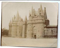 Vitré - Photo Du Château 1902 - Vitre