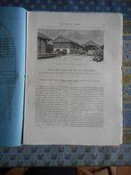 LE TOUR DU MONDE 1885 N° 1264 ALSACE LORRAINE LOGELBACH FILATURE TISSAGE DE BAGATELLE HOSOICE CITE OUVRIERE COLMAR - Books, Magazines, Comics