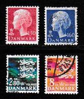DENMARK, 1979, Used Stamp(s), Definitives,  MI 679=685, #10145, 4 Values Only - Denmark
