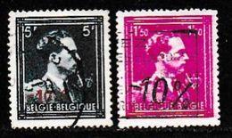 BELGIUM, 1946, Used Stamp(s),  Leopold III + Surcharge,   MI 748-750,  #10341,2 Values Only - 1936-1951 Poortman