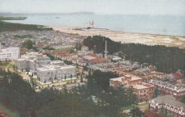 Hukuoka Japan Kyusyu Imperial University From Air On C1950s/60s Vintage Japan Air Transport Co. Postcard - Otros