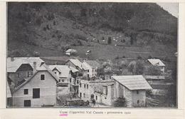 UQUE, UGGOVITZ, UGOVIZZA, MALBORGHETTO, VAL CANALE, UDINE - Primavera 1922 - Leggi Bene! - Udine