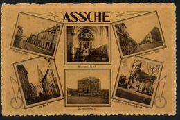 Z07 - Asse / Assche - Meerdere Zichten - Ongebruikt Met Lijmresten - Asse
