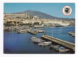 Corse Du Sud 2A Ajaccio Très Jolie Vue Générale En 1984 Beau Bateau à Quai - Sartene
