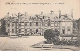 76 - SAINT AUBIN DE CRETOT - Le Château - Francia