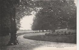 76 - SAINT AUBIN DE CRETOT - Château Perspective - Francia