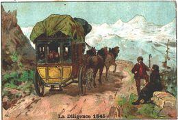 MOKA LEROUX  LA DILIGENCE 1845 - Chocolat
