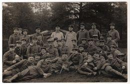 Nr. 3552 , FOTO-AK, WK I, Münsterlager - Weltkrieg 1914-18