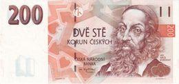 Czech Republic P.19  200 Korun 1998  Unc - Czech Republic