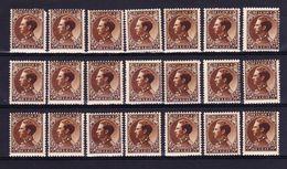 België, 1934, Kleine Verzameling Nr 402 **/* Zeer Mooi Lot K730,  KOOPJE - Timbres