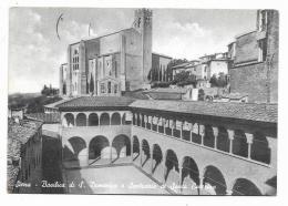 SIENA - BASILICA DI S. DOMENICO E SANTUARIO DI SANTA CATERINA - VIAGGIATA FG - Siena