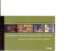IRELAND, Booklet 121, 2004, National Gallery - Boekjes