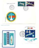 1981 - ROMANIAN-RUSSIAN COMMON FLIGHT IN SPACE - 2 FDC's - FDC