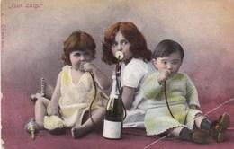 """Baby's, Bébés, Drinking Wine, """"gut Zulp"""" (pk43889) - Scènes & Paysages"""