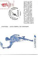France Carte Souvenir Philatélique XVI JO Hiver 1992 Alberville - Apparel, Souvenirs & Other