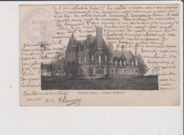 CPA - Cachet VRAINCOURT 52 - Service Des G V C Section F Poste 20 Aussi Au Dos - Estang - Chateau De Monbel ( Gers 32 ) - Autres Communes