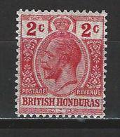 Brit. Honduras SG 112, Mi 77 * MH - British Honduras (...-1970)