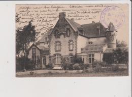CPA - Cachet VRAINCOURT 52 - Service Des G V C Section F Poste 20 Aussi Au Dos - Estang - Chateau De PHEMOTHE Gers 32 - Autres Communes