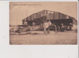 CPA Provenant D'un Carnet - ROCHEFORT SUR MER - Ecole D'Aviation Civile - Avion F-AICN - Rochefort
