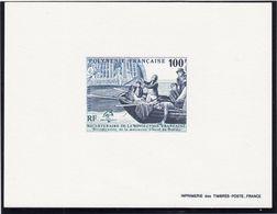Polynésie Française  1989 Cat. Yvert N° 332 épreuve De Luxe - Imperforates, Proofs & Errors