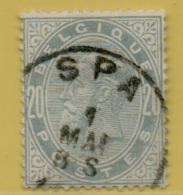 MW-2636  SPA    Ocb 39 - 1883 Léopold II
