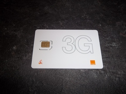 CARTE A PUCE GSM ORANGE 3G T.B.E !!! - Andere