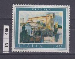 ITALIA REPUBBLICA, 1974Turismo Gradara Nuovo - 6. 1946-.. Repubblica