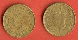HONG KONG 1948-51 10 Cent Nr. 25 C685 - Hong Kong
