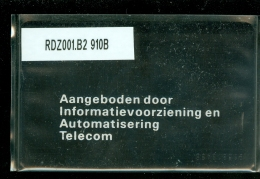 Telefoonkaart  LANDIS&GYR NEDERLAND * RDZ.001 B2 910B * Pays Bas Niederlande Prive Private  ONGEBRUIKT * MINT CV 250 - Nederland