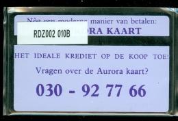 Telefoonkaart  LANDIS&GYR NEDERLAND * RDZ.002 010B * Pays Bas Niederlande Prive Private  ONGEBRUIKT * MINT - Nederland