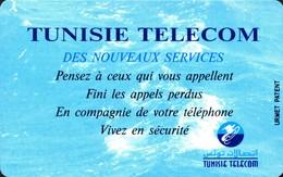 Des Nouveaux Services 25 UNITES - URMET MINT - Tunisia