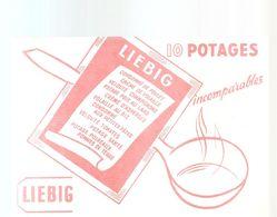 Buvard LIEBIG 10 Potages Imcomparables - Potages & Sauces