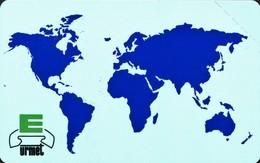 Map Of The World 50 UNITS - URMET MINT - Liberia