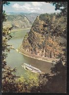 Germany - River Cruiser On The Rhine At The Loreley - Posted On Board Cachet 1969 - Sailing Vessels