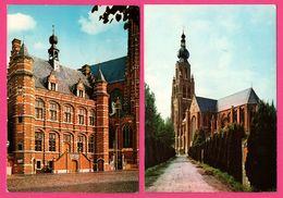 2 Cp - Hoogstraten - Sint Katharinakerk - Stadhuis - NELS - M. DRIES TORREELE - Hoogstraten
