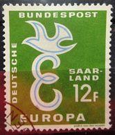 SARRE           N° 421              OBLITERE - 1957-59 Fédération