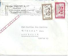 "Motiv Brief  ""Bonnin Diamants Casablanca""            1960 - Marruecos (1956-...)"