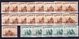 België, 1938, Kleine Verzameling Nr 471/72  **/* Zeer Mooi Lot K742,  KOOPJE - Timbres