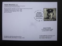 GREAT BRITAIN [GB] SG XXXX  NOOR INAYAT KHAN CARD FDC - FDC