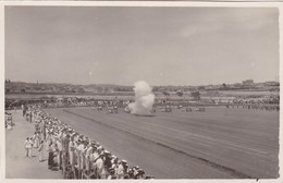 Postcard Royal Navy The Kings Birthday Review  On The Maba 1932 Firing A Salute My RP Ref  B11966 - Militaria