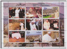 0755 Somalia 2000 Pope John-Paul II Poland S/S MNH - Popes