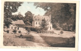 *** 35  ****  MINIAC MORVAN Le Château Du Bas Miniac - France