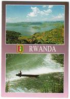 RWANDA - LAC RUHONDO / THEMATIC STAMP-FLOWER - Rwanda