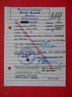 KG Lager GROSS ROSSEN 1944 Genuine Document To BORDEL. For Jude. Judaica - Documents Historiques