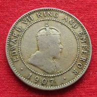 Jamaica 1/2 Penny 1907 Jamaique Half - Jamaica