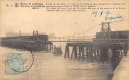 Ruines De ZEEBRUGGE - Brêche De 66 Mètres De Long Sur 20 Mètres De Large Provoquée Par L'explosion D'un Sous-marin - Zeebrugge