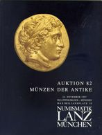 Numismatik Lanza Munchen - Auktion 82 Munzen Der Antke  - 24 Novembre 1997 - Catalogo D'Asta - Books & Software