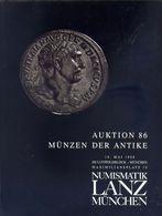 Numismatik Lanza Munchen - Auktion 86 Munzen Der Antke  - 18 Mai 1998 - Catalogo D'Asta - Books & Software
